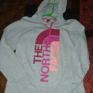 The North face Womens Hooded sweatshirt